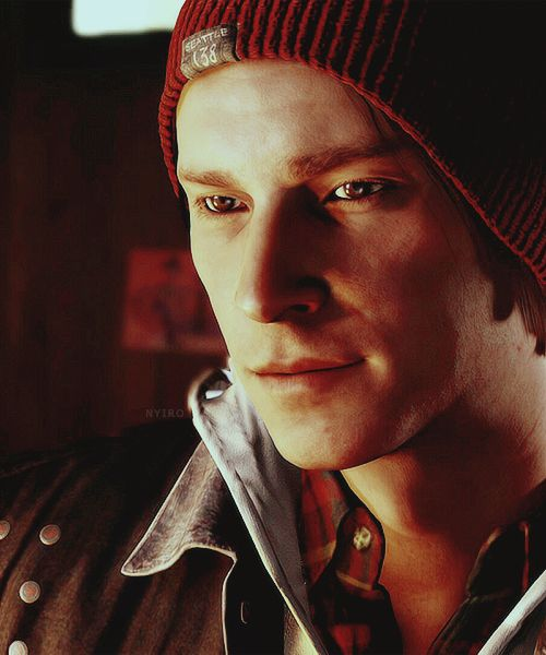 troy baker infamous