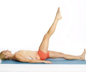 Post-Baby Ab Rehab Workout - states that crunches are NOT what you need to doing lots of, since it targets the ab muscle thats been stretched most by pregnancy.  6 pilates moves to do at least 3 times per week.