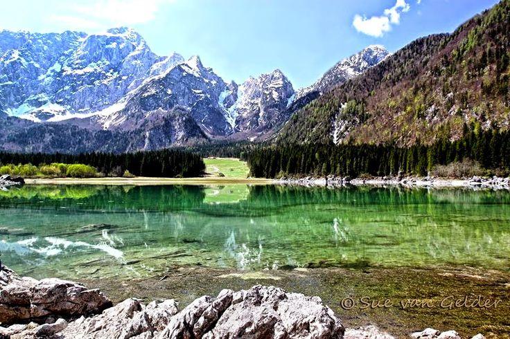 ART'é FvG blog: Lago Superiore di Fusine Valromana (UD)