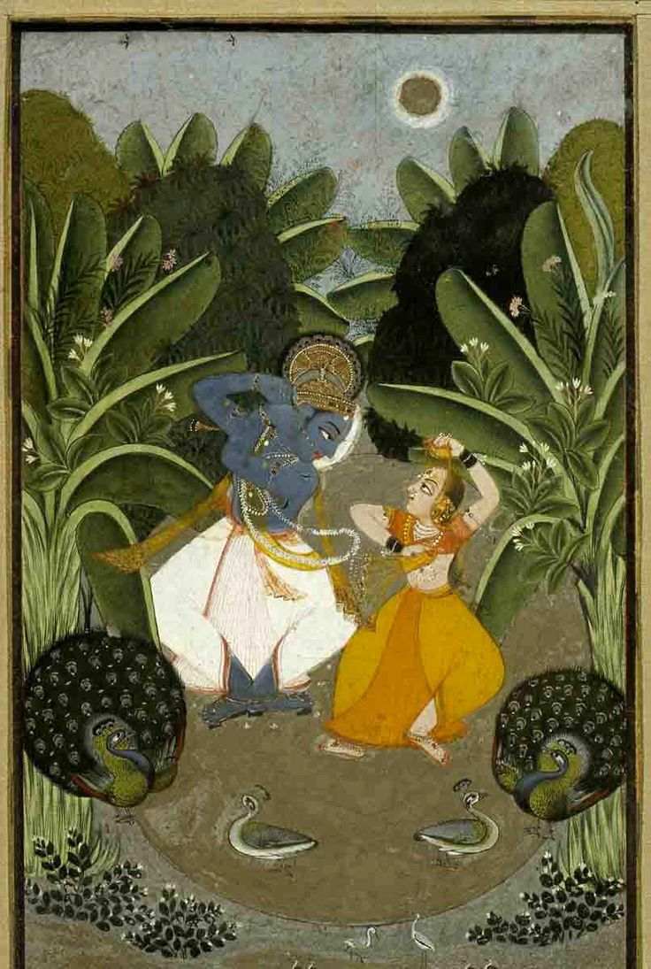 17 Best images about Radha & Krishna In Miniature ...