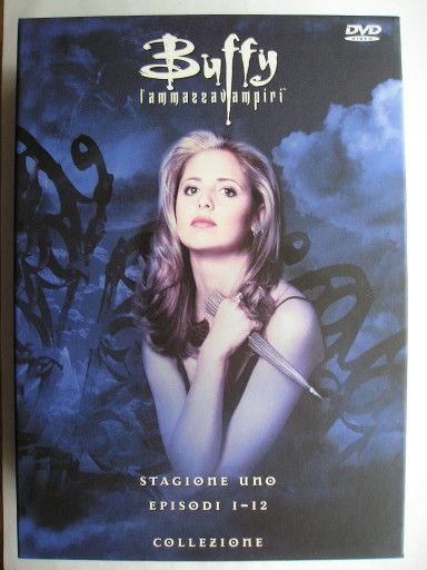 """On March 10, 1997 the TV show """"Buffy the Vampire Slayer"""" made its debut. Image from the seasion 1 DVD boxset. Click to read a homage to this TV show!"""