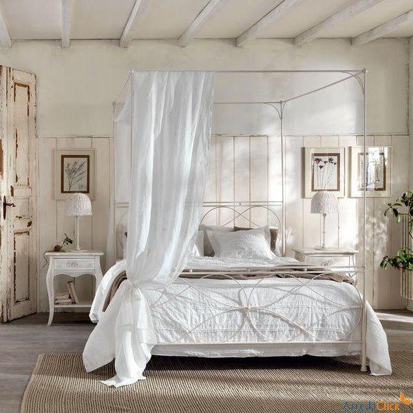 Oltre 1000 idee su camera da letto con baldacchino su pinterest camere da letto suite letti a - Letto a baldacchino bianco ...