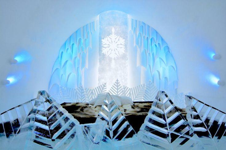 ICE HOTEL, Sweden 【スウェーデン】アイスホテル