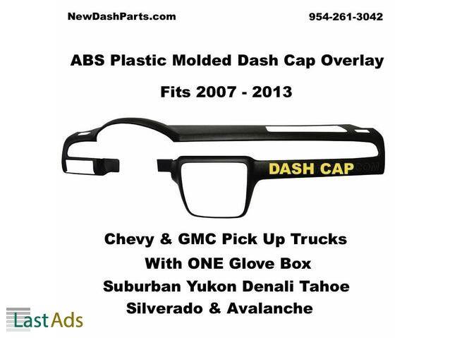 Dash Cap Fits 07 13 Chevy Gmc Suburban Yukon Silverado Tahoe