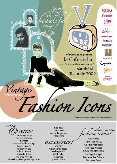 V for Vintage Fashion Icons - 2009