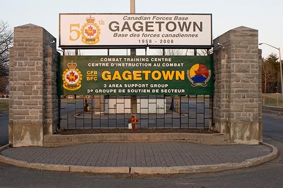 CFB Gagetown New Brunswick