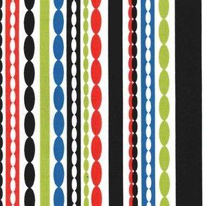 Michael Miller House Designer - Stripes - Chain Reaction in Multi