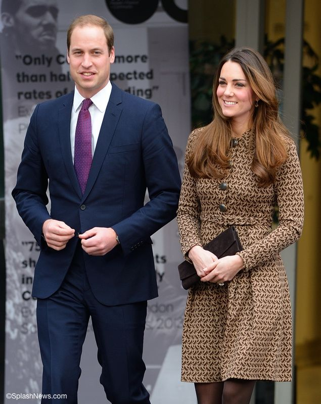 Kate Brings Back Orla Kiely's Dress for Only Connect Visit