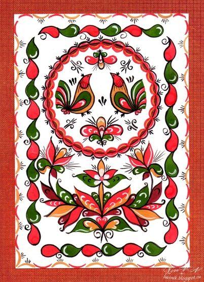 Luvinik ... с Любовью...: Ракульская роспись. Отчет 1.