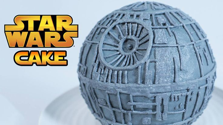 How to Make a Star Wars Death Star Cake