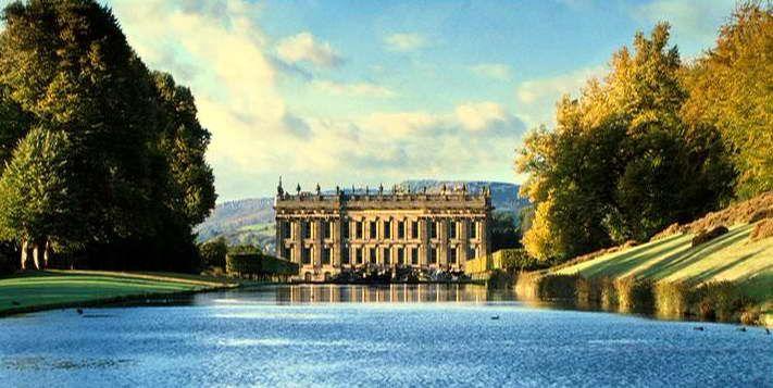 Chatsworth House aka Pemberley, home of the beautiful Mr. Darcy