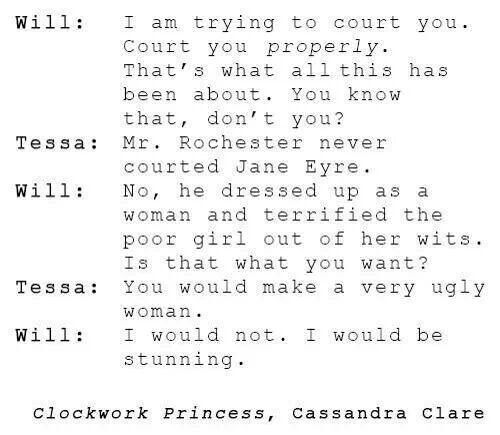 The level of sass in this.<<<< I loved this scene and love their relationship even more!!!!!!!!!!