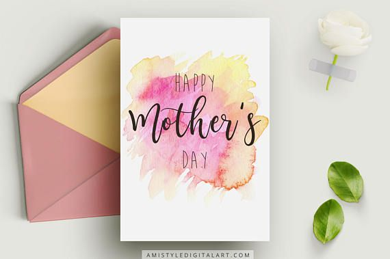 Mother's Day Card Happy Mother's DayPrintable Card