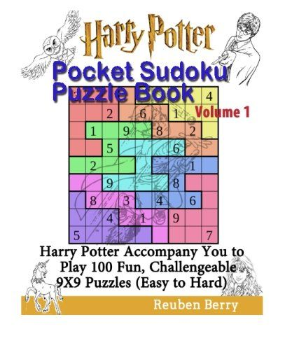 Harry Potter Pocket Sudoku Puzzle Book Volume 1: Harry Potter Accompany You to Play 100 Fun Challen @ niftywarehouse.com #NiftyWarehouse #HarryPotter #Wizards #Books #Movies #Sorcerer #Wizard