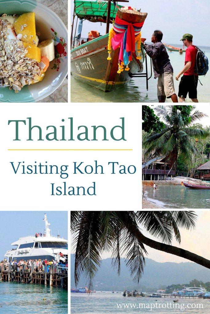 Visiting Koh Tao Island, Thailand