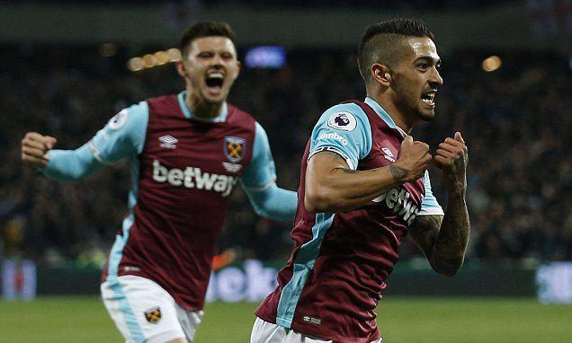 West Ham 1-0 Tottenham: Manuel Lanzini strike earns win