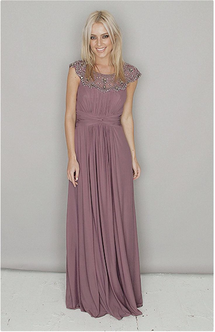 Best 25+ Mauve dress ideas on Pinterest | Mauve prom dress ...