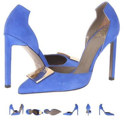Pantofi Versace Collection LSD4490 LCAM albastru. Detalii aici http://thankyou.ws/pantofi-stiletto-din-piele-naturala-alege-calitatea #pantofisenzationali  #pantoficutocstiletto #pantofidinpielenaturala #pantofistilettopielenaturala #VersaceCollection