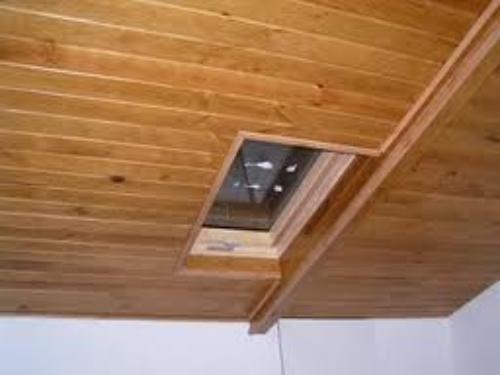 falsos techos madera gallery of sa est realizando falsos techos y tragaluces de madera de diseos tal como se puede apreciar en las fotos with falsos techos - Falso Techo Madera