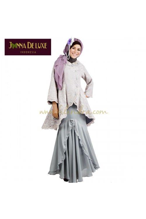 Sabina -brocade tops muslimah skirt ruffle