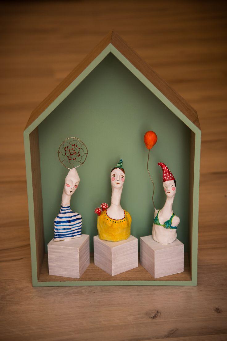 small sculptures.. malé múzy  do každého kúta