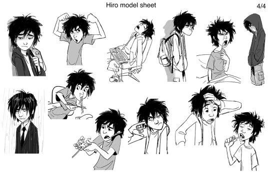 more Hiro study