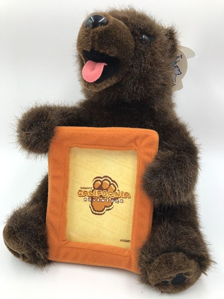 Disney California Adventure Bear Photo Frame Hidden Mickey Disneyland Duffy | Collectibles, Disneyana, Contemporary (1968-Now) | eBay!