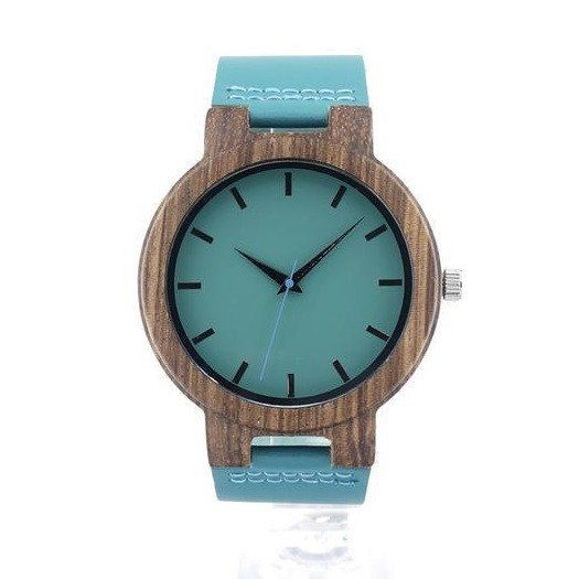 Minimal Color Bamboo Wooden Watch [2 variations]