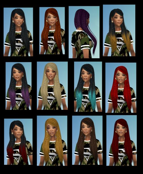 Afro Hair Gallery - a.k.a. Ethnic Hair Vault | The African Sim