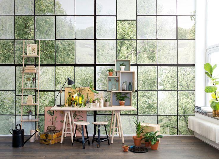 74 best Creative Desks images on Pinterest Desks, Art studios - küche tapezieren ideen