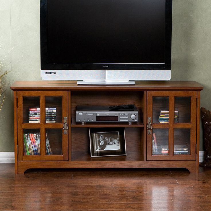 50 Inch Entertainment Center Part - 21: Mission Oak