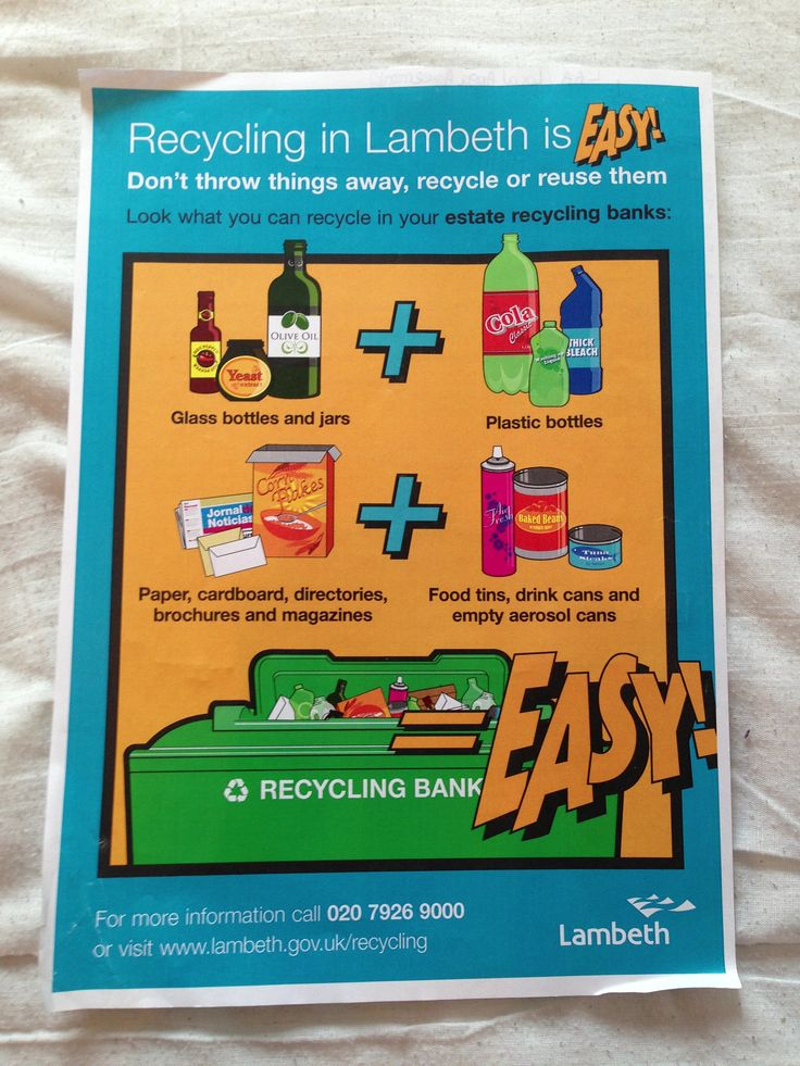 Recycling poster #lambeth #localgov. Led on the borough wide campaign using illustrated design. #insight2marketing #i2m