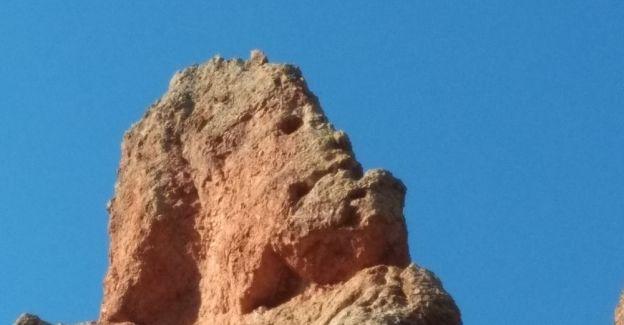 Kütahya'da insan silüetli kayalar şaşırtıyor