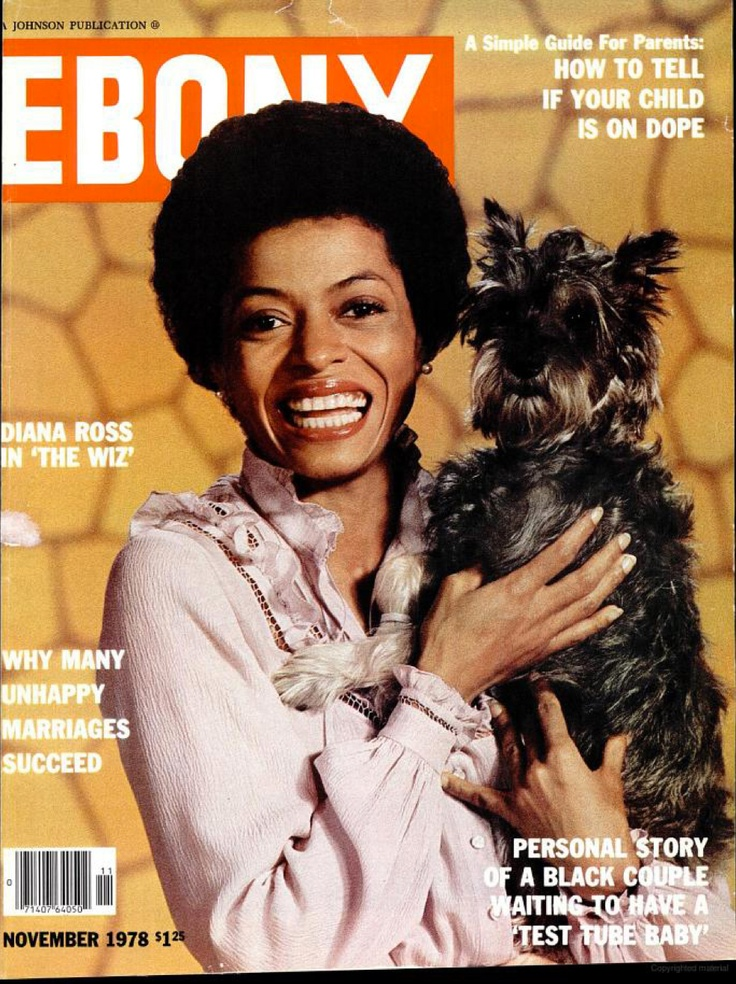 Ebony magazine, November 1978 — Diana Ross in The Wiz