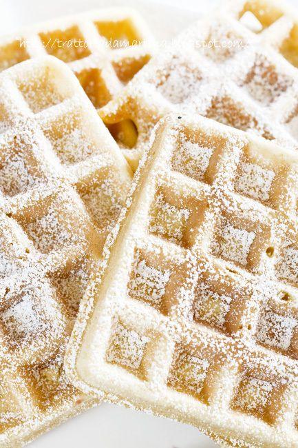 Waffle, waffel o wafel alla belga (o goufre) - Trattoria da Martina
