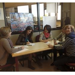 Charla con el equipo de trabajo de Apoyo a la Investigación de la Biblioteca de la Universidad de la Laguna sobre bibliotecas universitarias