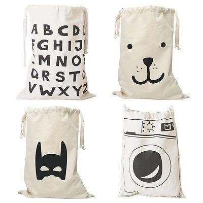 Cute Baby Toys Storage Canvas Bags Batman Bear Pattern Laundry Bag Pouch,Baby Kids Toys Storage Bag Cute Wall Pocket-in Storage Bags from Home & Garden on Aliexpress.com | Alibaba Group