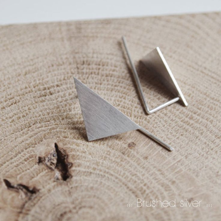 Les Geometriques Nro 8 Earrings \ AgJc