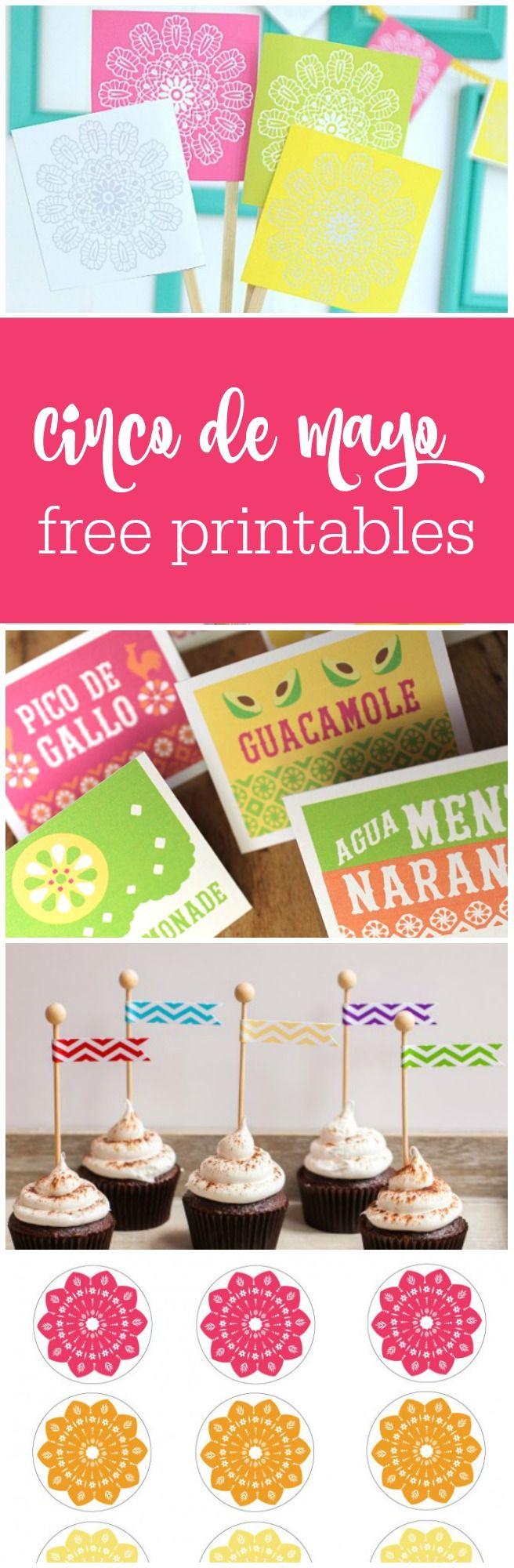 13 free Cinco de Mayo printables