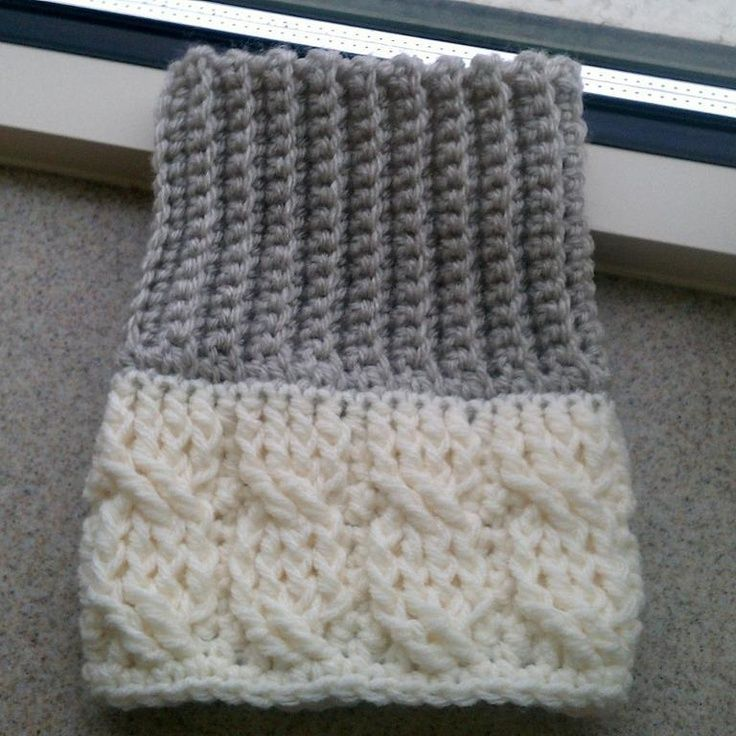 14 best Projects to Try images on Pinterest   Knitted boot cuffs ...