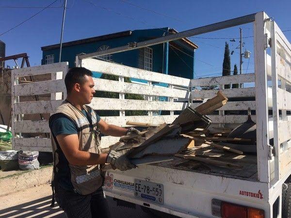 Retiró Gobierno Municipal más de 48 toneladas de desechos de colonia División del Norte | El Puntero