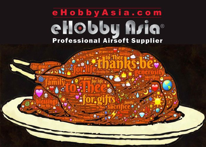 Thanksgiving Promo At eHobby Asia