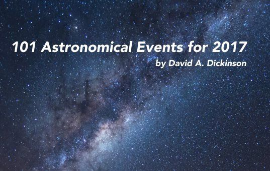 Our Free Book: 101 Astronomical Events in 2017