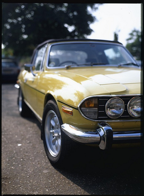 Triumph Stag. First saw one in 1976 in Traralgon!