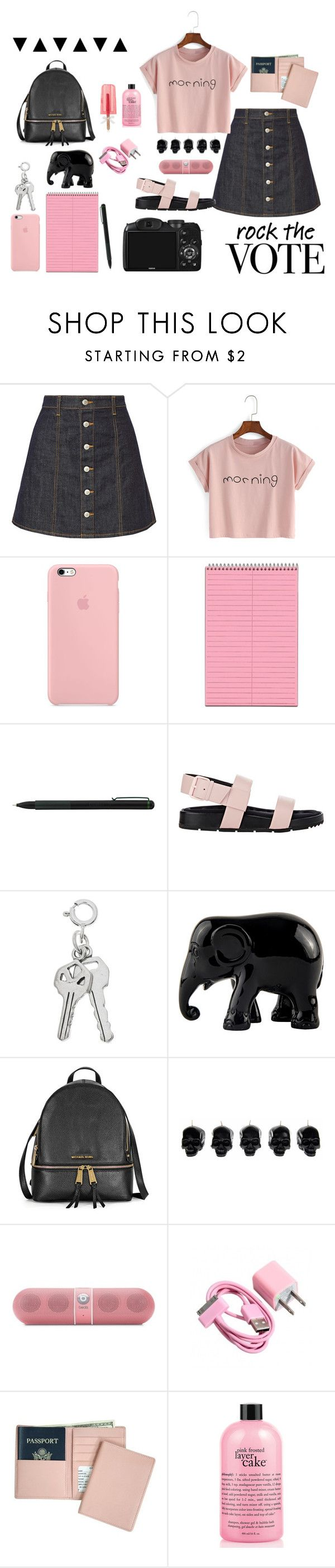 """""""Sem título #328"""" by rani-gomes ❤ liked on Polyvore featuring AG Adriano Goldschmied, IDEA International, CO, Balenciaga, The Elephant Family, D.L. & Co., Beats by Dr. Dre, Royce Leather and philosophy"""