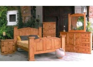 Rustic Heritage Mansion 5 Drawer Chest,Rustic Heritage