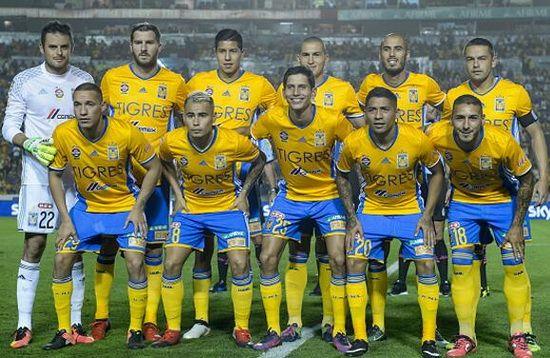 Jugadores del Tigres de la UANL de la temporada 2017/2018