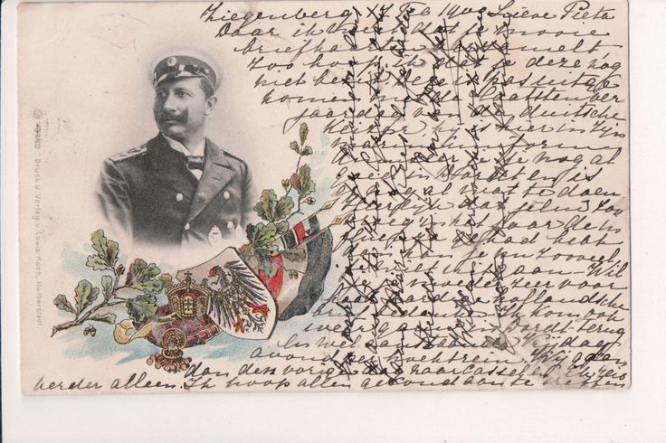 Awesome Awesome Vintage Postcard Kaiser Wilhelm II, German Emperor King of Prussia  Cool Check more at http://24shopping.tk/fashion-clothes/awesome-vintage-postcard-kaiser-wilhelm-ii-german-emperor-king-of-prussia-cool-2/