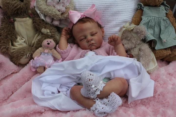 Peek-A-Boo Babies reborn nursery. This gorgeous baby girl is sold but you can  Check out available baby dolls on my Facebook page :)