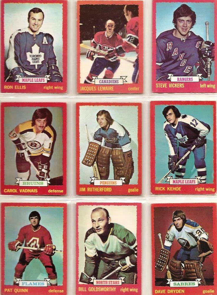 55-63 Ron Ellis, Jaques Lemaire, Steve Vickers, Carol Vadnais, Jim Rutherford, Rick Kehoe, Pat Quinn, Bill Goldsworthy, Dave Dryden
